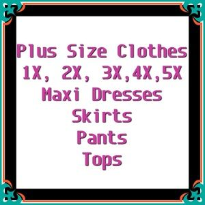 Extended Super Plus Sizes Available